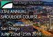 San Diego Shoulder Institute 2016